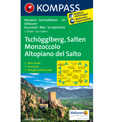 Tschöggelberg, Salten 1:25.000