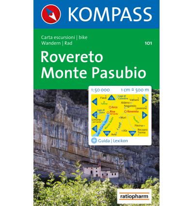 Rovereto, Monte Pasubio 1:50.000