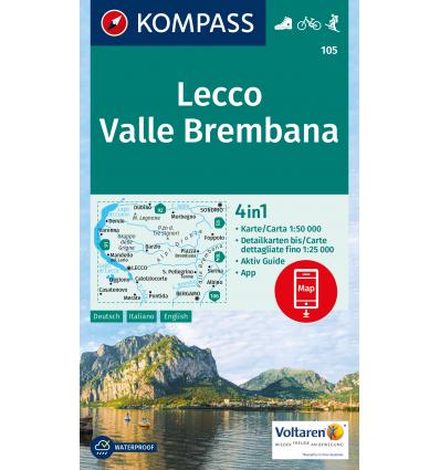Lecco, Valle Brembana 1:50.000