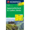 Appenzellerland, St. Gallen, Säntis, 1:40.000