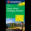 Davos, Arosa, Prättigau, Klosters 1:40.000