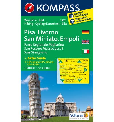 Pisa, Livorno, San Miniato, Empoli 1:50.000