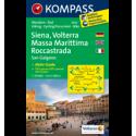 Siena, Volterra, Massa Marittima, Rocca Strada 1:50.000