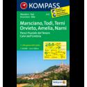 Marciano, Todi, Terni, Amelia, Narni 1:50.000