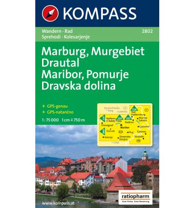 Marburg, Murgebiet Drautal 1:75.000