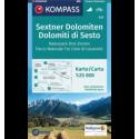 Sextner Dolomiten, Naturpark Drei Zinnen 1:25.000