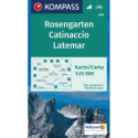 Rosengarten, Latemar 1:25.000