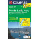 Monte Baldo Nord, Altopiano di Brentonico, Malcesine, Nago 1:25.000