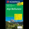 Alpi Bellunesi 1:50.000