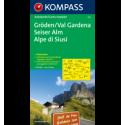 Val Gardena, Alpe di Siusi 1:150.000