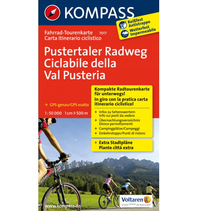 Pustertaler Radweg 1:50.000