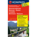 Ciclabile Brennero – Bolzano 1:50.000