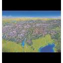 Panoramaposter Alpen – Adria