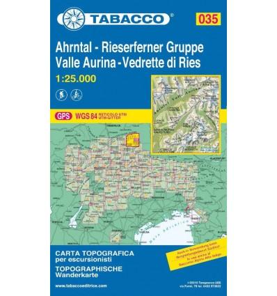 Valle Aurina, Vedrette di Ries