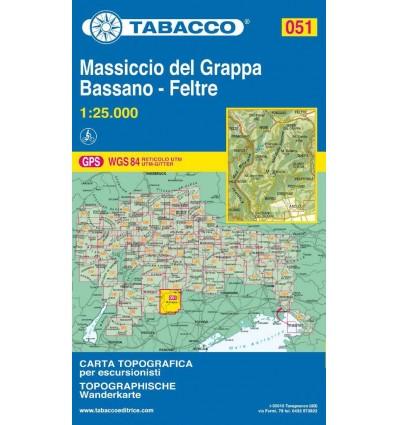Monte Grappa, Bassano, Feltre