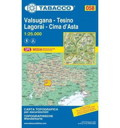 Valsugana, Tesino, Lagorai, Cima d'Asta