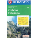 Gubbio, Fabriano 1:50.000