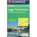 Lago Trasimeno, Val di Chiana, Chianciano Terme 1:50.000