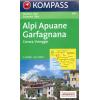 Alpi Apuane, Garfagnana, Carrara, Viareggio 1:50.000