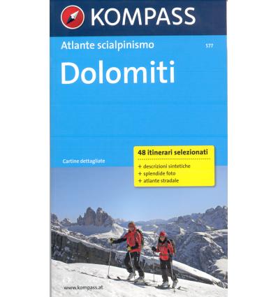 Atlante scialpinismo Dolomiti