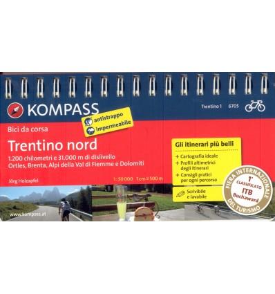 Bici da corsa Trentino Nord 1:50.000