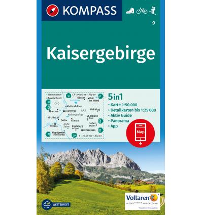 Kaisergebirge 1:50.000