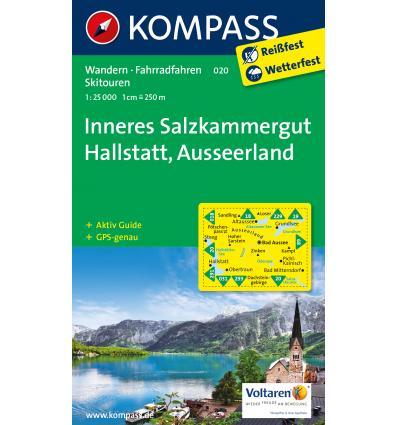 Inneres Salzkammergut, Hallstatt, Ausseerland 1:25.000