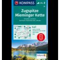 Zugspitze, Mieminger Kette 1:50.000