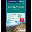 Der Dachstein, Ramsau, Filzmoos 1:25.000