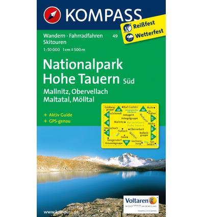 Nationalpark Hohe Tauern Süd, Mallnitz, Obervellach, Maltatal, Mölltal 1:50.000