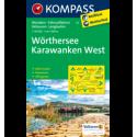 Wörthersee, Karawanken West 1:50.000