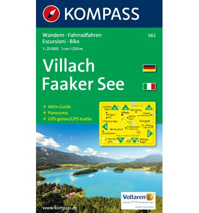 Villach, Faaker See 1:25.000