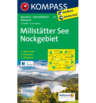 Millstätter See, Nockgebiet 1:50.000