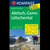Aletsch, Goms, Lötschental 1:40.000