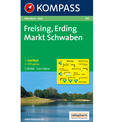 Freising, Erding, Markt Schwaben 1:50.000