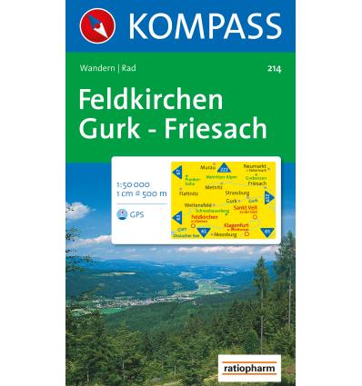 Feldkirchen, Gurk, Friesach 1:50.000