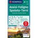 Foligno, Spoleto, Terni, Valnerina 1:50.000