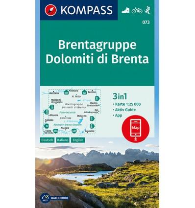 Dolomiti di Brenta, 1:25.000