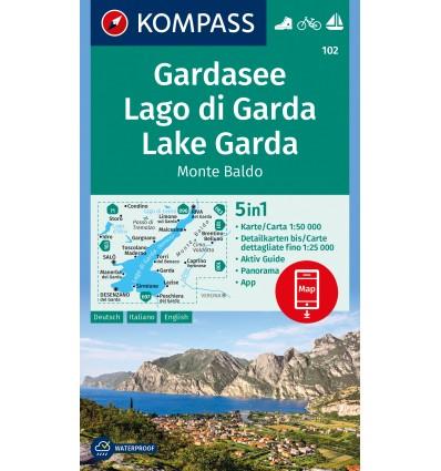 Gardasee, Monte Baldo 1:50.000