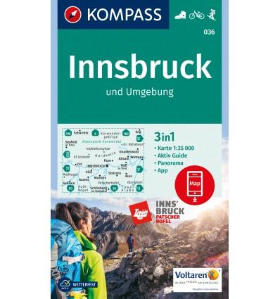 Innsbruck e dintorni 1:35.000