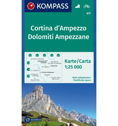 Cortina d'Ampezzo, Dolomiti Ampezzane 1:25.000