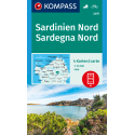 Sardegna Nord 1:50.000 – set di 4 cartine