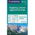 Monte Regolo, Val d'Ega 1:25.000