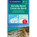 Korsika Nord 1:50.000, SET aus 3 Karten