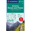 Inneres Ötztal und Pitztal, Gurgler Tal, Venter Tal 1:25.000