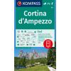 Cortina d'Ampezzo 1:50.000
