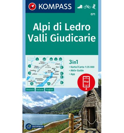 Alpi di Ledro, Valli Giudicarie 1:50.000