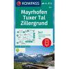 Mayrhofen, Tuxer Tal, Zillergrund 1:25.000