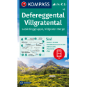 Defereggental, Villgratental, Lasörlinggruppe, Villgrater Berge 1:50.000