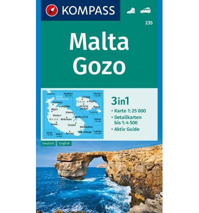 Malta, Gozo 1:25.000